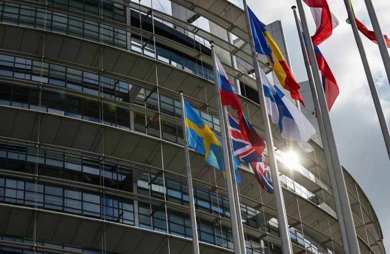 parlamentul european steagul romaniei - European Union 2014 - European Parliament