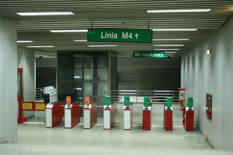 metrorex metrou intrare metrou linia m4