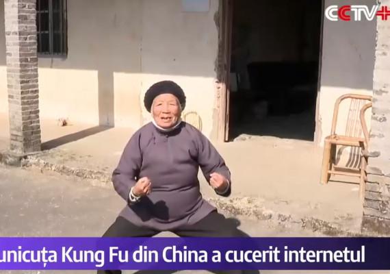 Bunicuța Kung Fu cucerește internetul