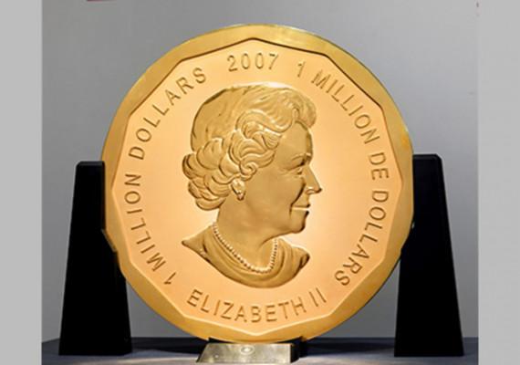 Cea mai mare monedă de aur din lume a fost furată
