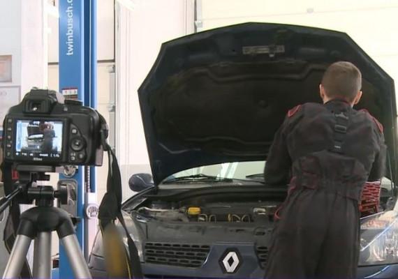Mecanicul auto care garantează lucrările cu înregistări video