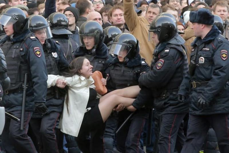 Proteste Rusia martie 2017