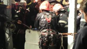 VIDEO. Momentul în care copilul căzut în puț este salvat