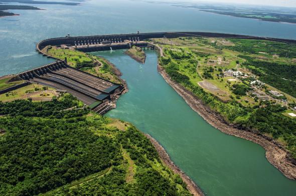 itaipu dam brazilia