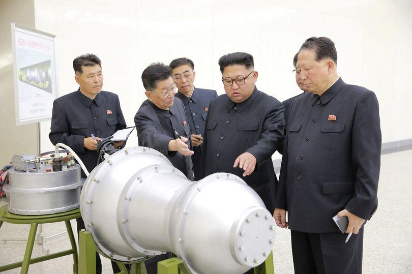 Phenianul ameninta cu detonarea unei bombe cu hidrogen in Pacific