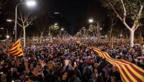 proteste Catalonia
