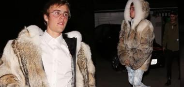 WTF? Justin Bieber poartă CEA MAI DUBIOASĂ HAINĂ de BLANĂ EVER! (VIDEO)