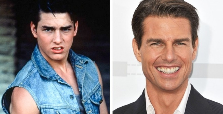 Tom Cruise-then-now