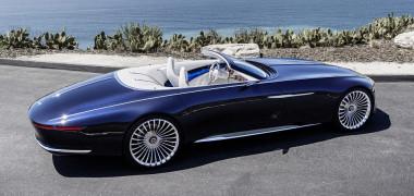 Vision Maybach 6 Cabriolet oferă luxul suprem pe patru roţi!