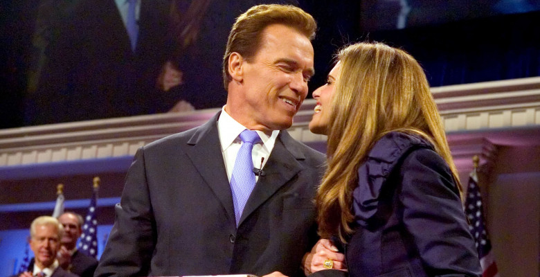 Arnold Schwarzenegger Is Inaugurated For A Second Term As Governor