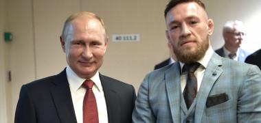 Conor McGregor a dat mâna cu Putin, dar iată cum au reacţionat...