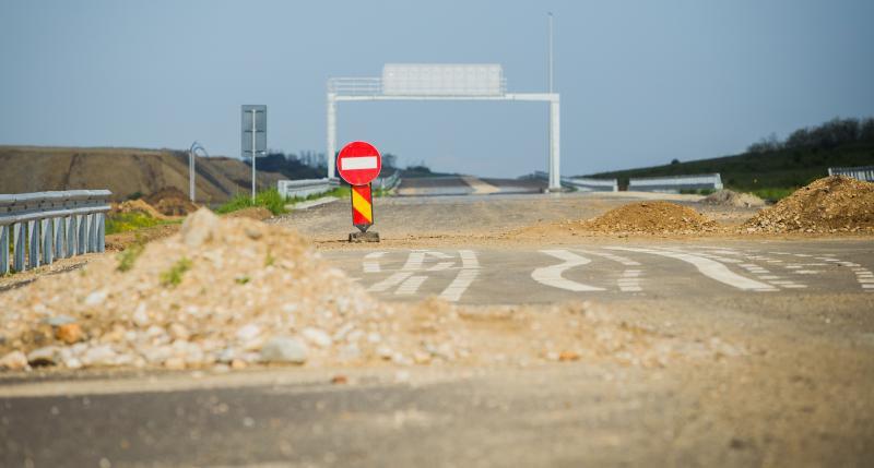 Santier autostrada Sibiu-Orastie - Mediafax Foto-Ovidiu Dumitru Matiu-1