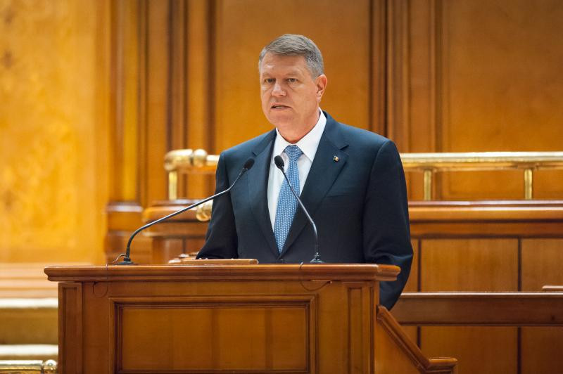 iohannis discurs strategie aparare parlament
