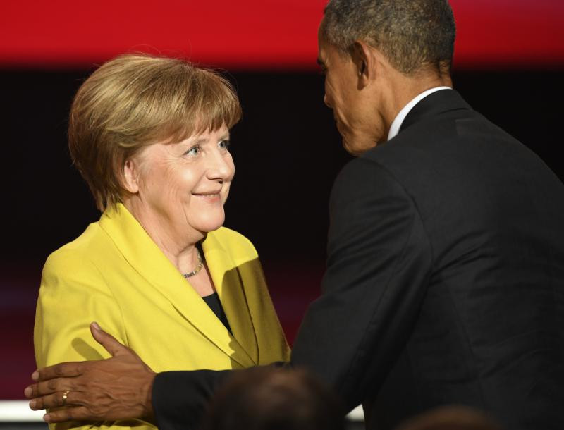 obama merkel germania GettyImages-523836570
