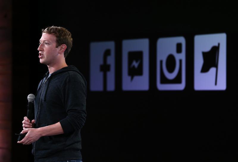 Mark Zuckerberg Facebook - Guliver GettyImages 2