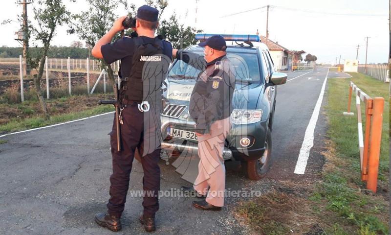 polititia de frontiera refugiati