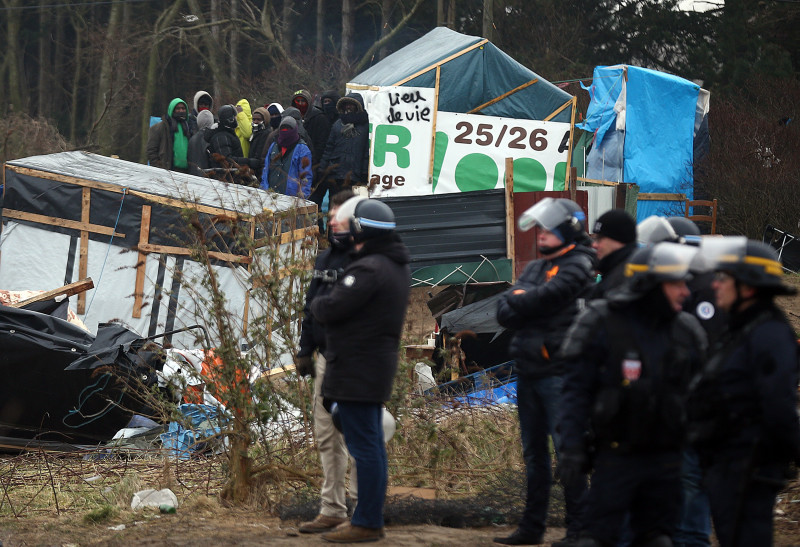 Destruction Of Calais Jungle Camp Continues