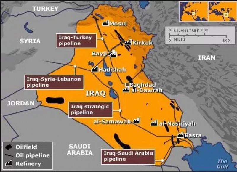 harta irak mosul kirkuk