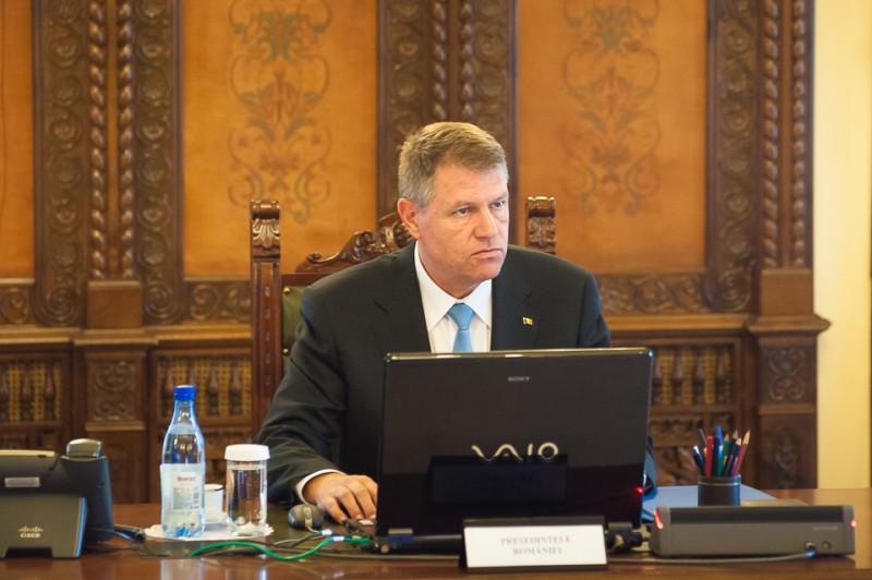 Klaus Iohannis, sedinta CSAT 9 iunie 2015 - presidency.ro