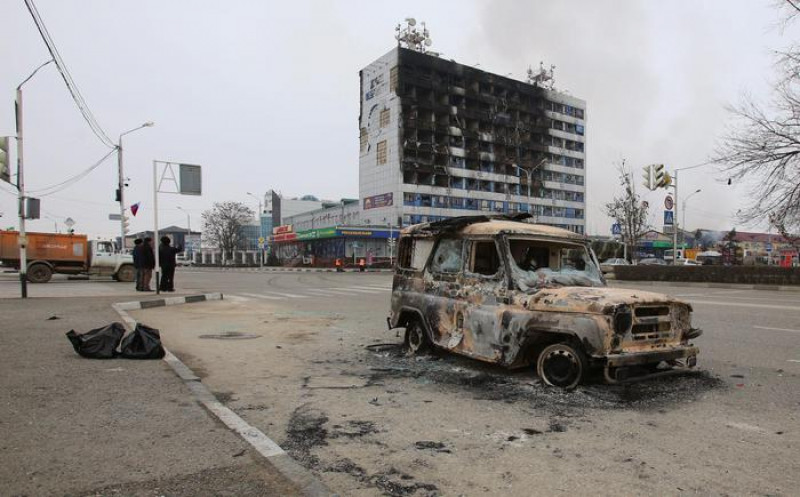 Terrorist attack in Grozny