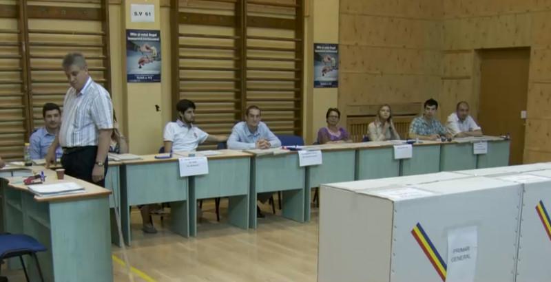 sectie de votare captura