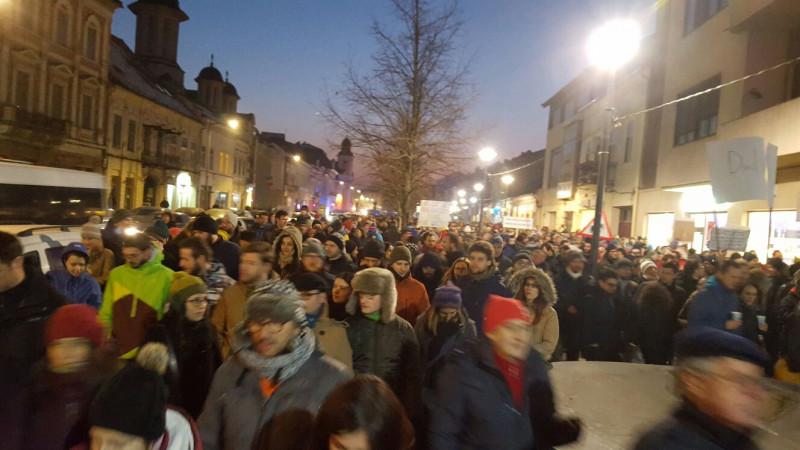 proteste Cluj 1 290117