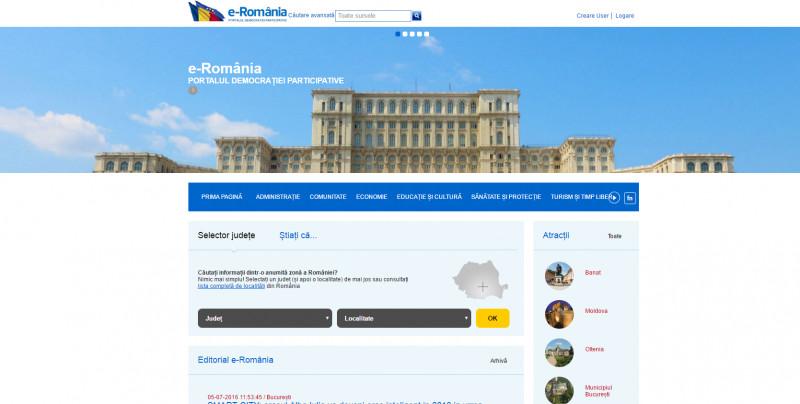 Portal e-Romania