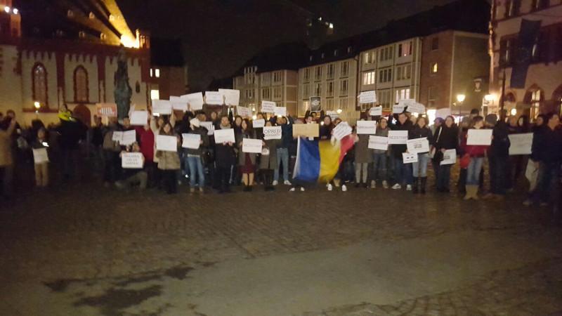 protest frankfurt