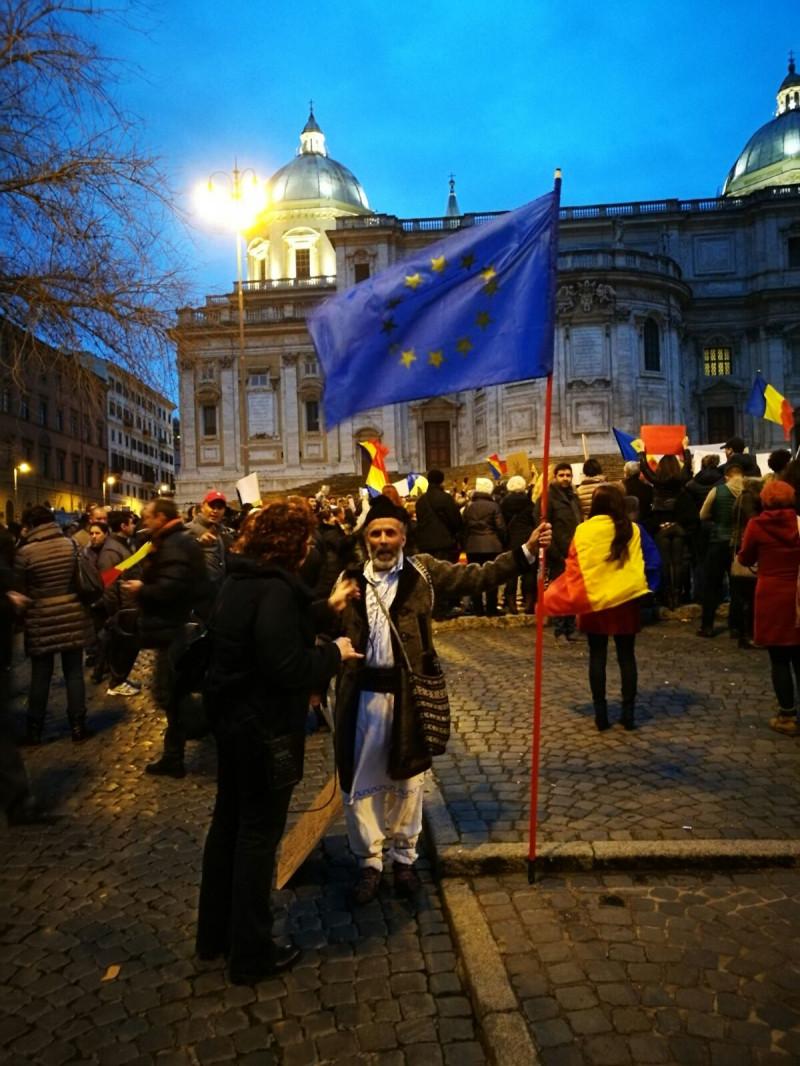 proteste Gorj 1 050217
