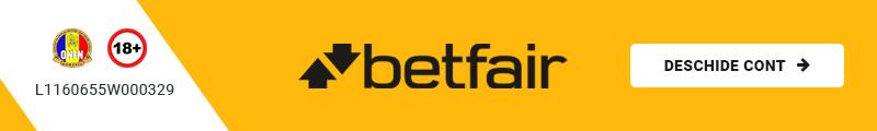 Deschide cont la Betfair