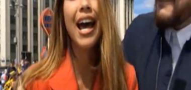 VIDEO. Reporteriță agresată sexual în timp ce relata în direct de la Cupa Mondială