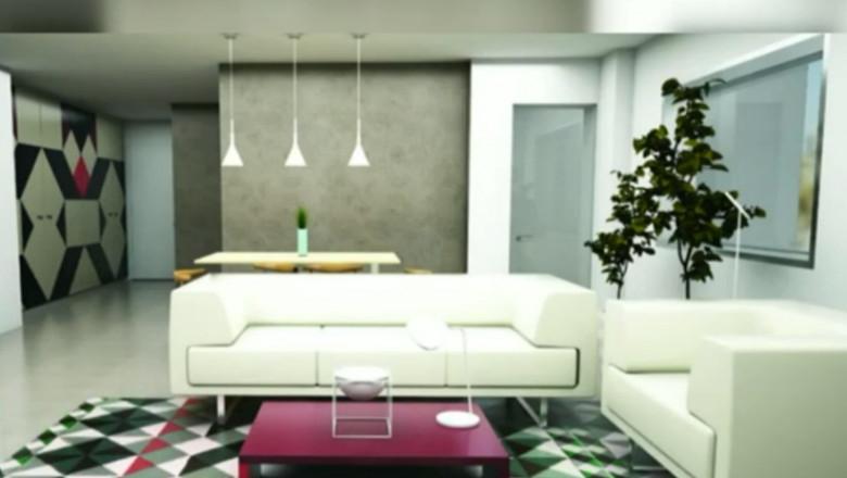 apartament grafica