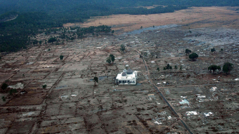 Tsunami Indonezia 2004 - Guliver GettyImages
