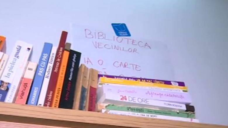 biblioteca-scara-blocului