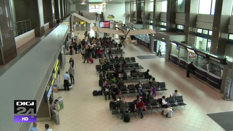 interior aeroportul otopeni