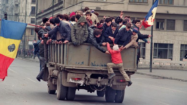 Revolutie Bucuresti 1989-AFP Mediafax Foto-CHRISTOPHE SIMON