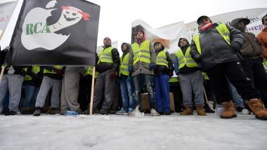 protest transportatori RCA
