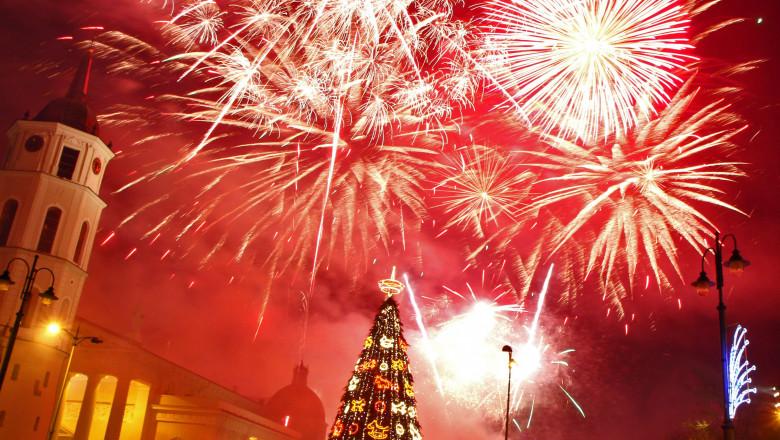 lituania revelion 2014 artificii mfax