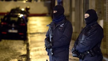 teror belgia politie - 7228483-AFP Mediafax Foto-MARCEL VAN HOORN