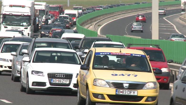 aglomeratie masini autostrada