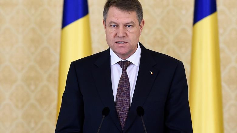 Klaus Iohannis primele declaratii de la Cotroceni 12 ianuarie 2015 - presidency 2
