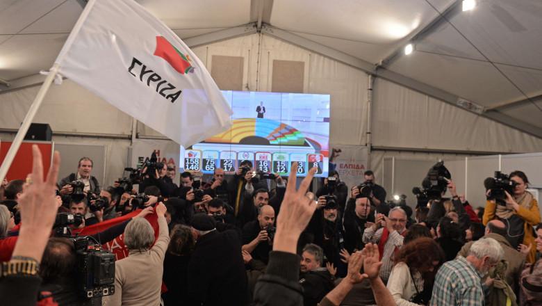 Grecia victorie alegeri syriza AFP Mediafax Foto-LOUISA GOULIAMAKI