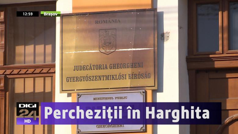 PERCHEZITII HARGHITA