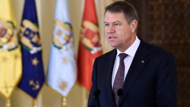 Klaus Iohannis primele declaratii de la Cotroceni 12 ianuarie 2015 - presidency 3 -4