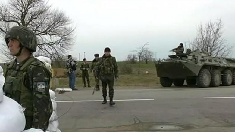 soldati ucraineni la granita