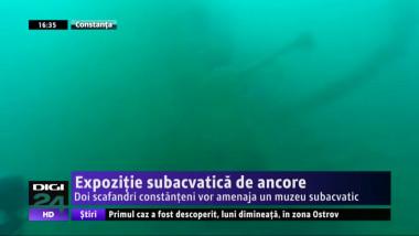expozitie subacvatica