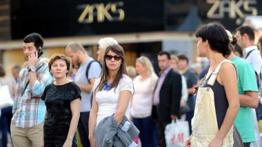 oameni croatia - 6863529-AFP Mediafax Foto--
