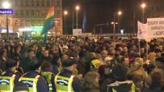 manifestatie ungaria putin