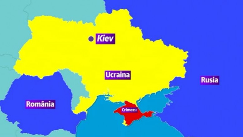 harta ucraina-crimeea