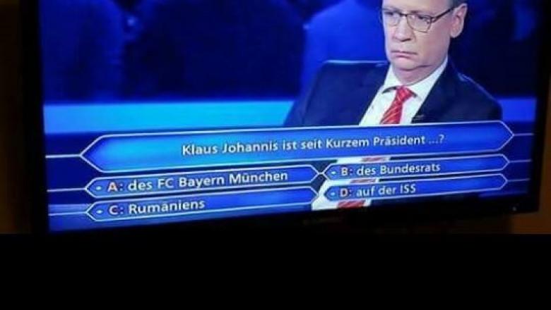iohannis concurs germania